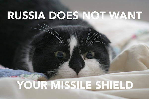 International Relations as Depicted by Cats Russia
