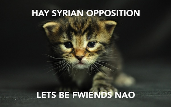 International Relations as Depicted by Cats Syrian