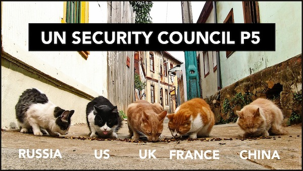 International Relations as Depicted by Cats UE Council