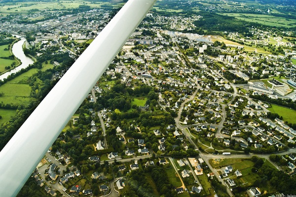 France View from a Plane