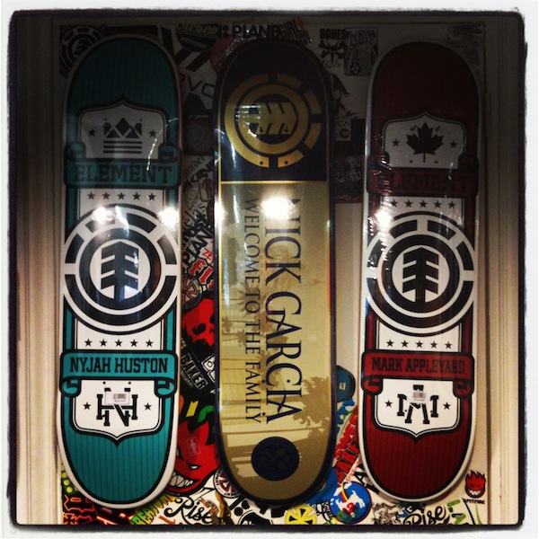 arnaud-liard-x-wall-project element skateboard