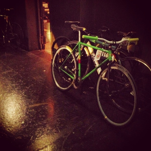 red-bull-mini-drome-paris-2013 green bike