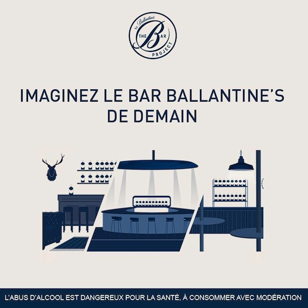 ballantines Bar Project whisky chacha