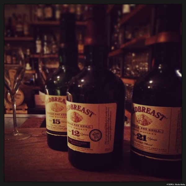 redbreast 12 15 21 years irish whiskey