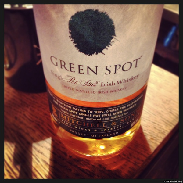redbreast green spot irish whiskey