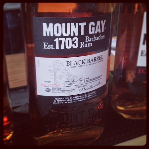Mount Gay Black Barrel rhum-fest-2014