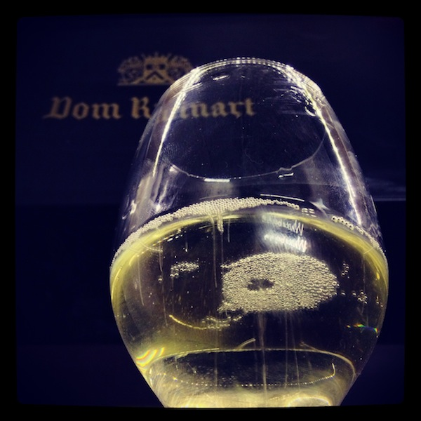 Champagne Dom Ruinart Bulles