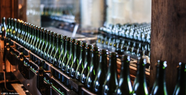 Champagne Laurent Perrier Embouteillage