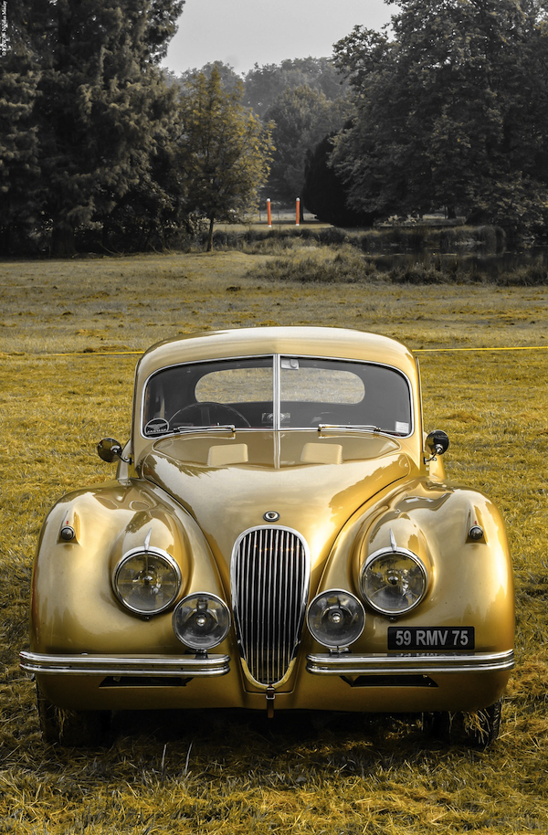 Chantilly Arts Elegance Golden Car