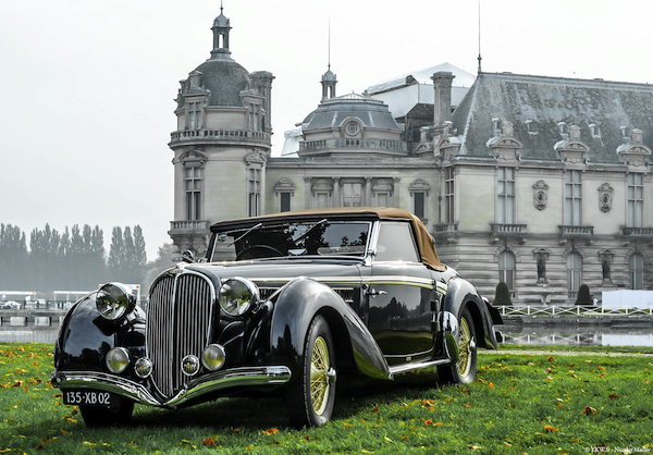 Chantilly Arts Elegance Retro Car