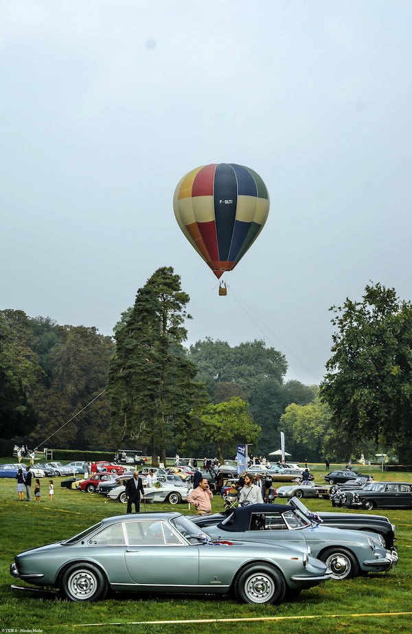 Chantilly Elegance Ballon Montgolfiere