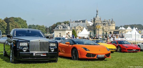 Chantilly Elegance Supercar Luxe