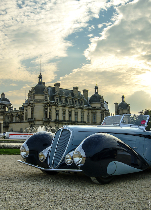 Delahaye 135 M 1937 Elegance Chantilly