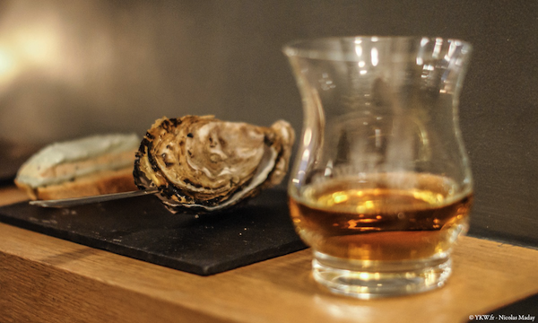 Bowmore Whisky Oyster
