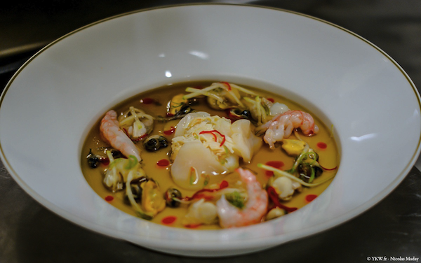 Chef Didier Clement Coquillages Langoustine