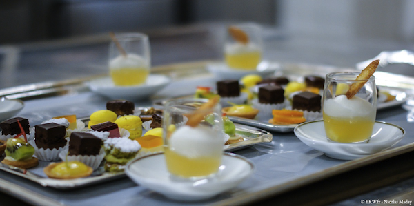 Chef Didier Clement Grand Hotel lion Or Michelin mignardises