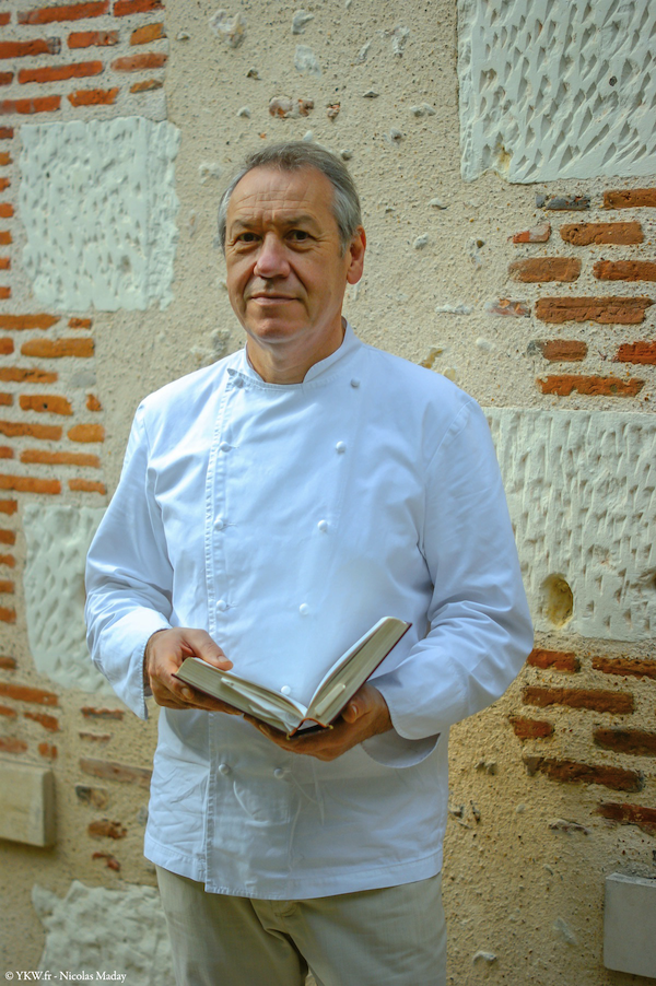 Chef Didier Clement Grand Hotel lion Or Michelin