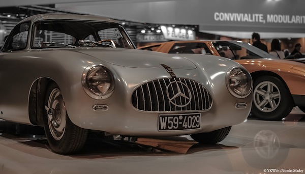 Mercedes 300 SL Retromobile ArtCurial 2015