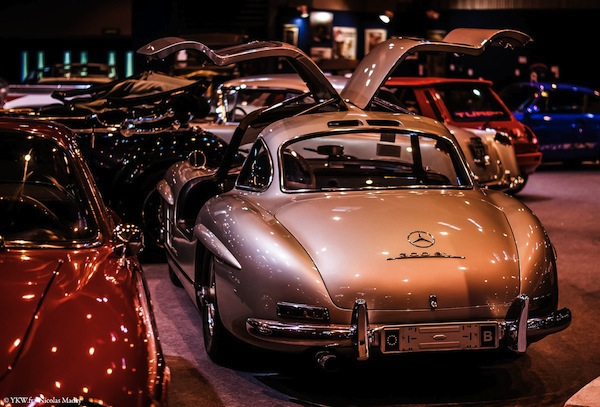 Retromobile ArtCurial 2015 Mercedes 300 SL open Door