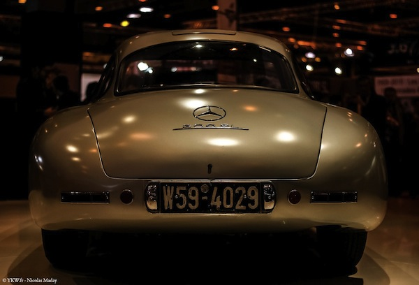 Retromobile ArtCurial 2015 Mercedes 300 SL