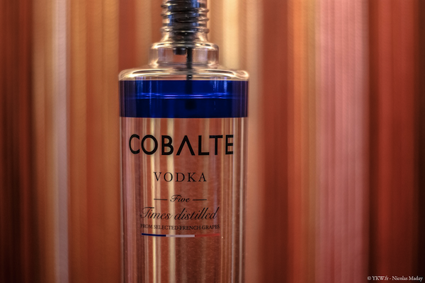 Cobalte Vodka Made In France Reims