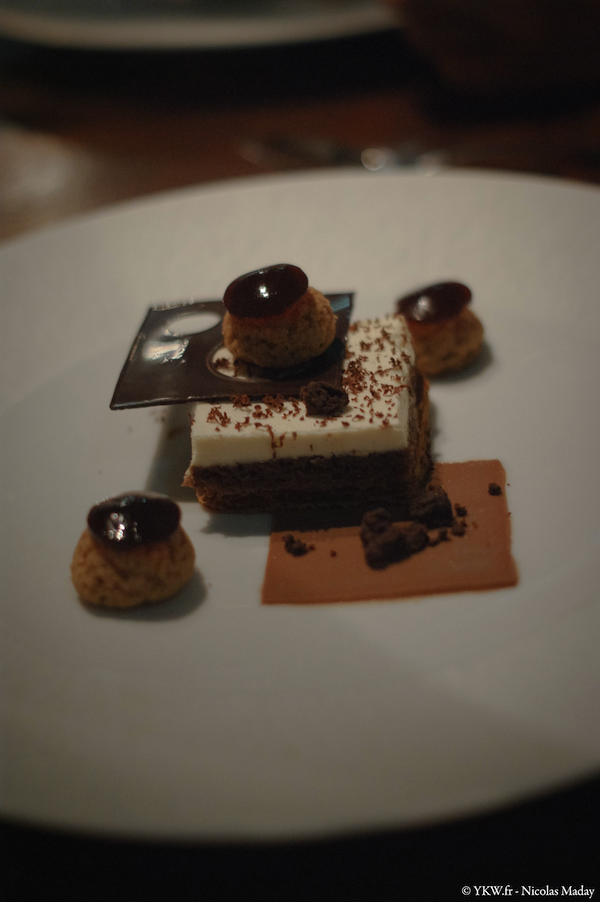 Faust Restaurant Millefeuille cafe chocolat