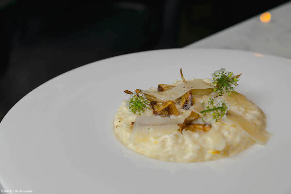 Risotto sourire-restaurant-paris-justin-brohm