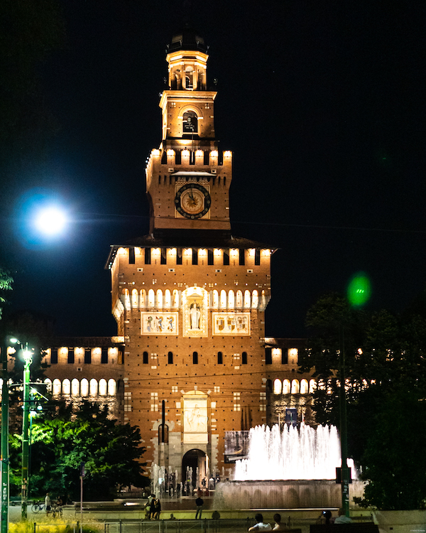 city-trip-milan Castello Sforzesco